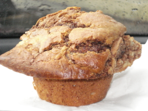 nutella muffin