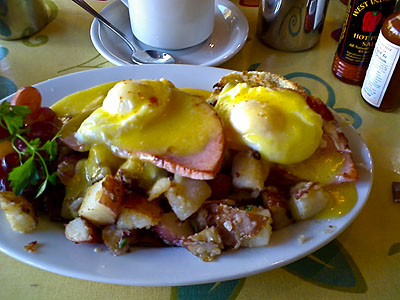 The best Benedict in the world!
