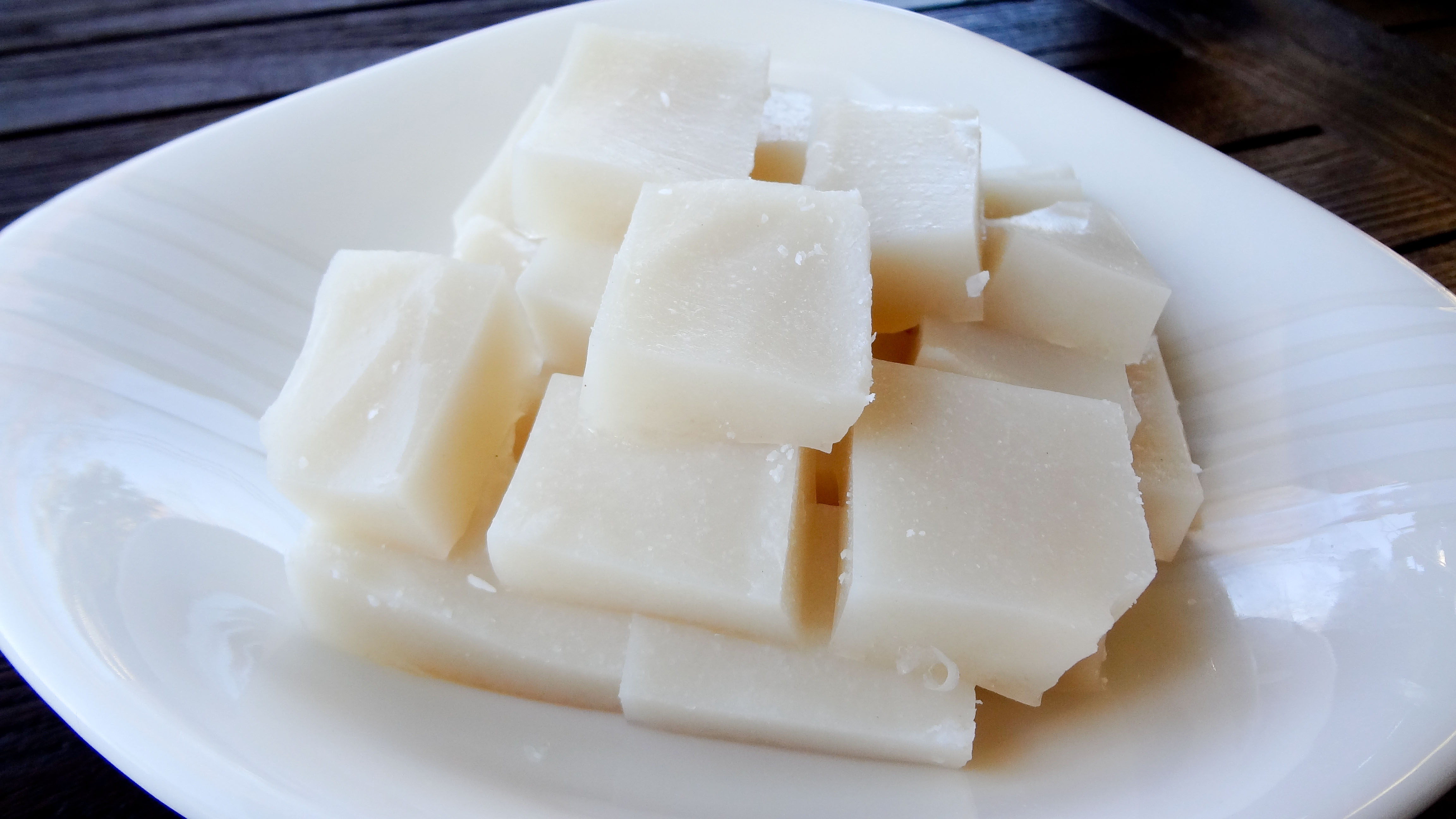 Dim Sum Coconut Jelly | Bay Area Foodie