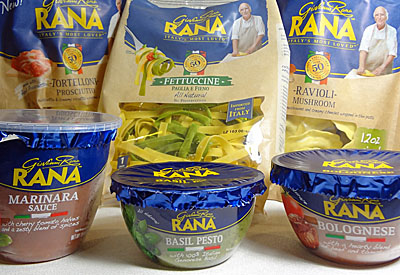 Giovanni Rana Pasta and Sauces | Bay Area Foodie